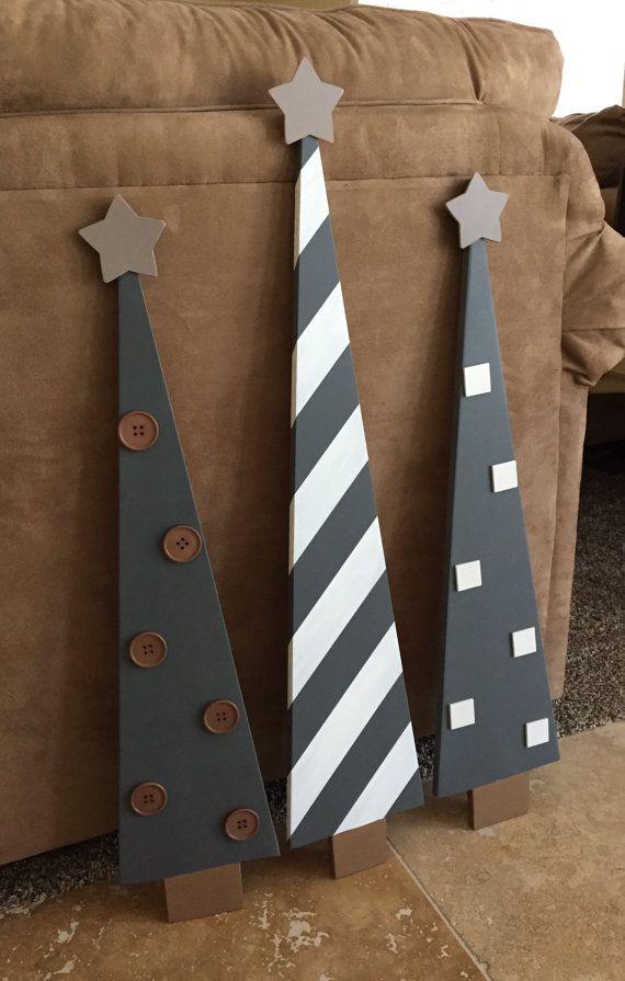 venta casa de rboles de navidad madera decoracin