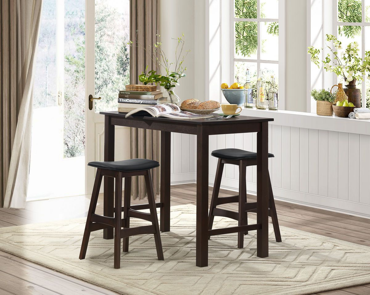 Wisdom pcs counter height dining set dining pub table sets and