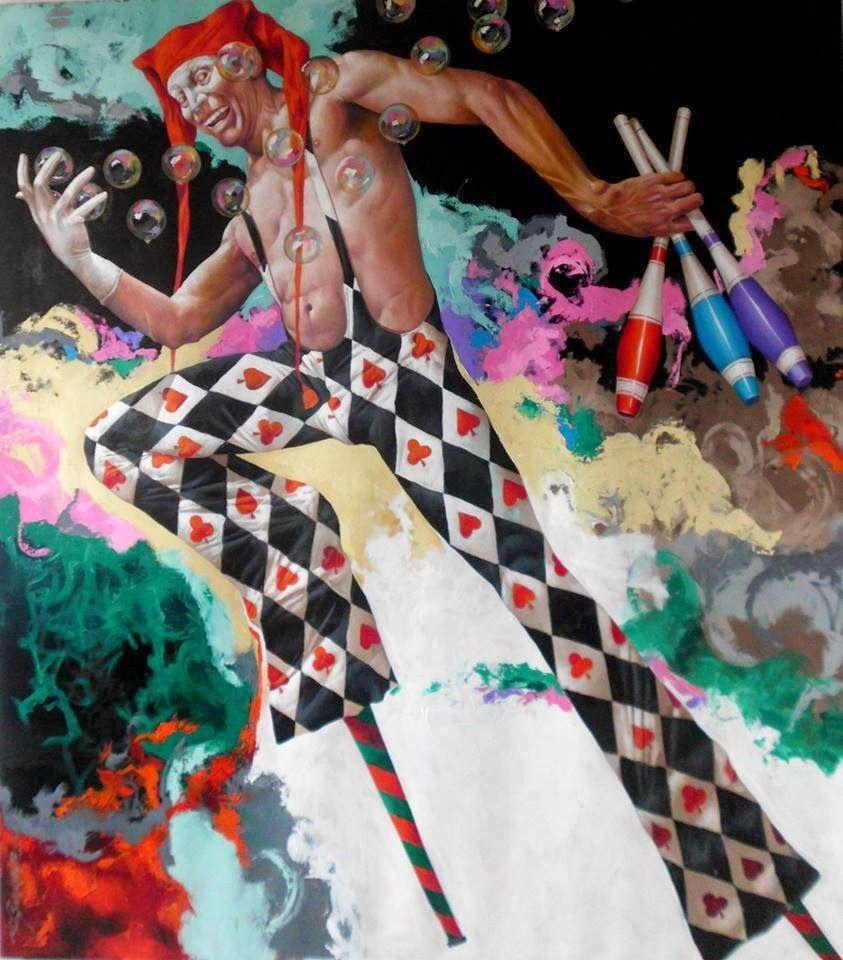 Artodyssey: Alex Stevenson Diaz new works