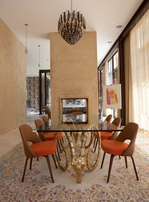 15 Rooms With Brass Accents Dining Room Design Dining Room