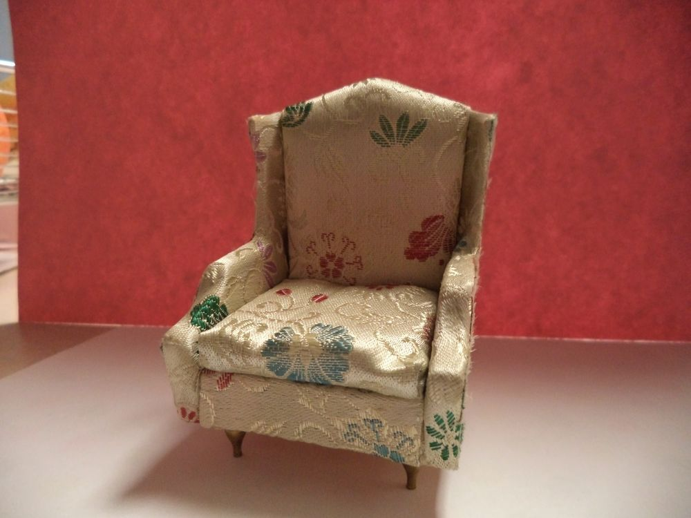 Ideal Petite Princess Floral Wingback Chair #Ideal