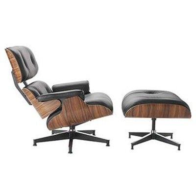 Eames Lounge chair incl. hocker. Lounge. Design Lounge