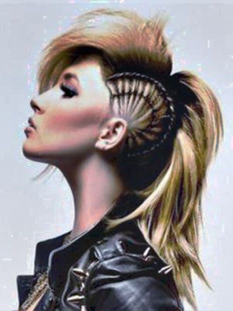 Mohawk hairstyles for women with long hair mohawk hairstyles for