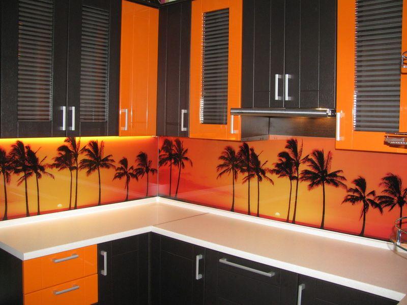 цвета, скинали для бело оранжевой кухни цветы фото воспоминаниям