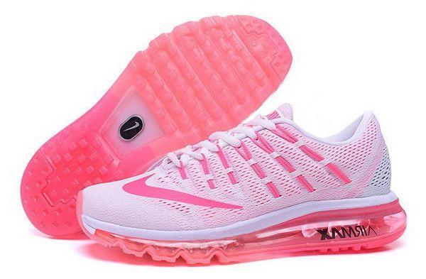 official photos 0b0fb 22c05 Womens Nike Air Max 2016 White Pink Usa
