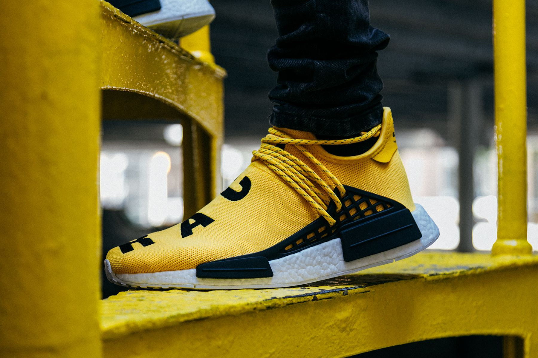 finest selection 2212c 104ed Another On-Feet Look At The Pharrell x adidas NMD Human Race •  KicksOnFire.com