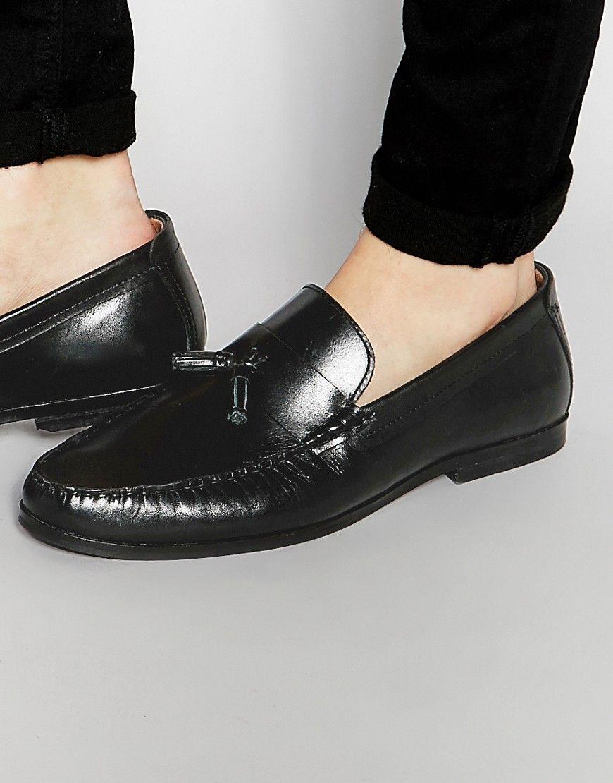 Tassel Loafers In Black Suede - Black Redtape Buy Online Cheap Xbskc2ZP