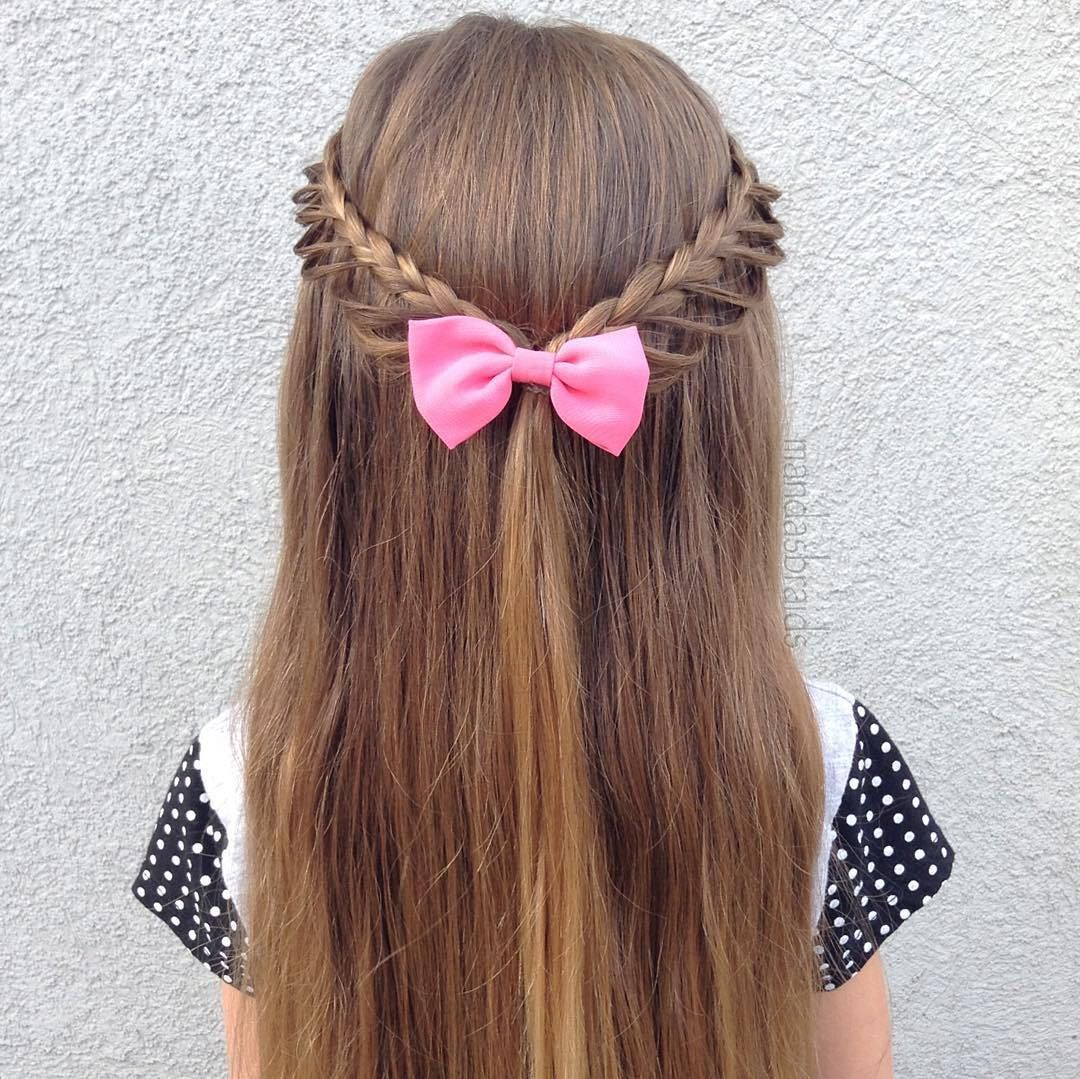 40 Cool Hairstyles for Little Girls on Any Occasion | Braided half ...