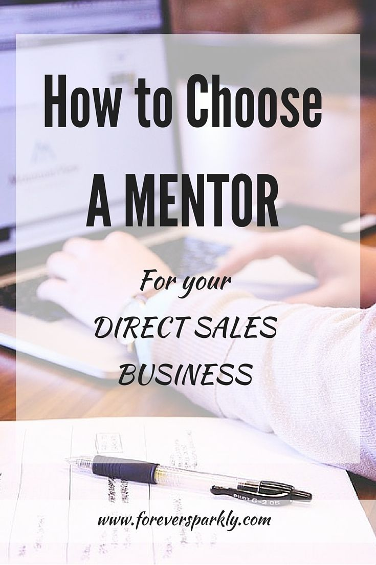 Choosing a mentor for your direct sales business 3