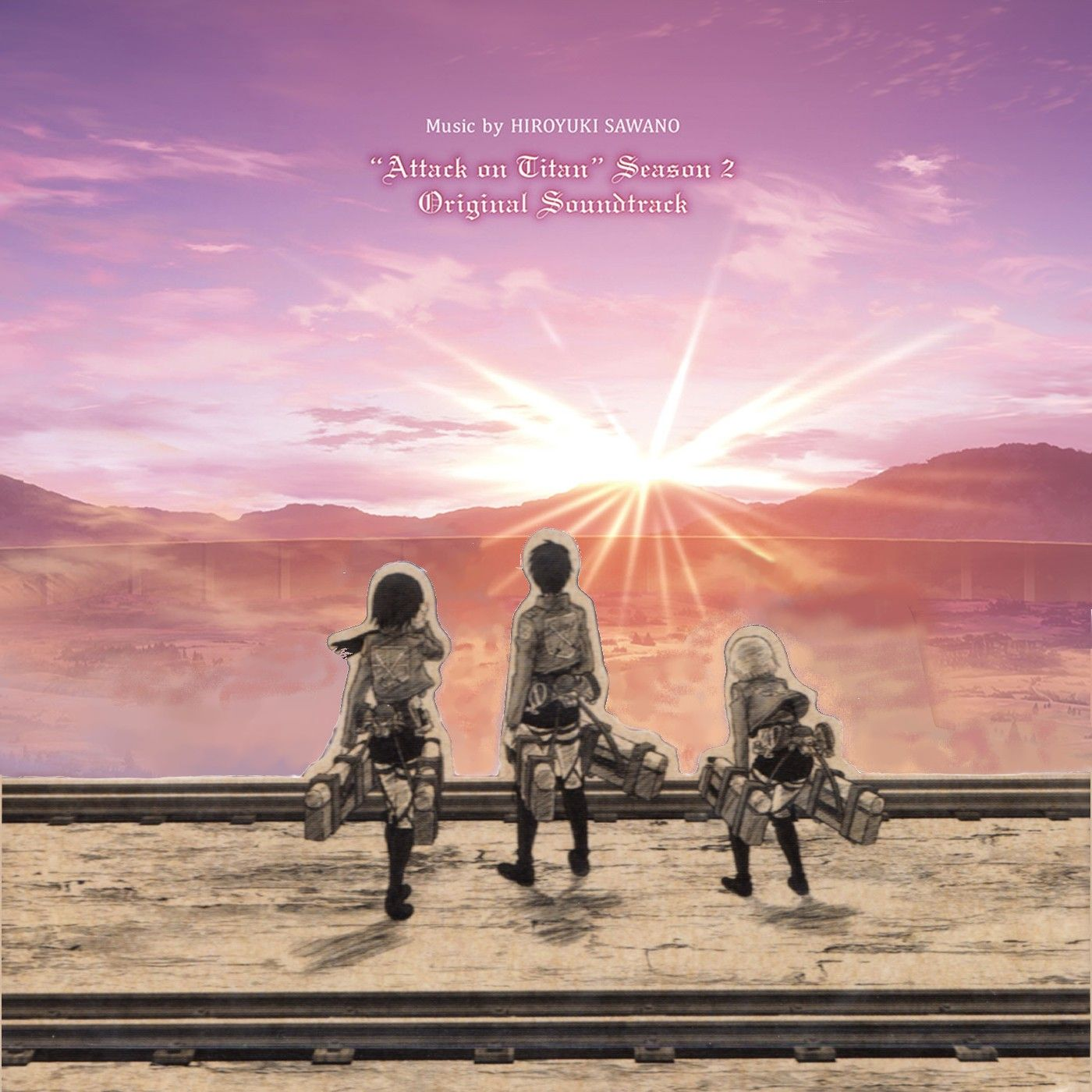 attack on titan album cover (season 1+2) (With images)