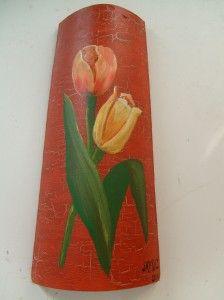 Tulipan tegole pinterest - Tegole decorate istruzioni ...
