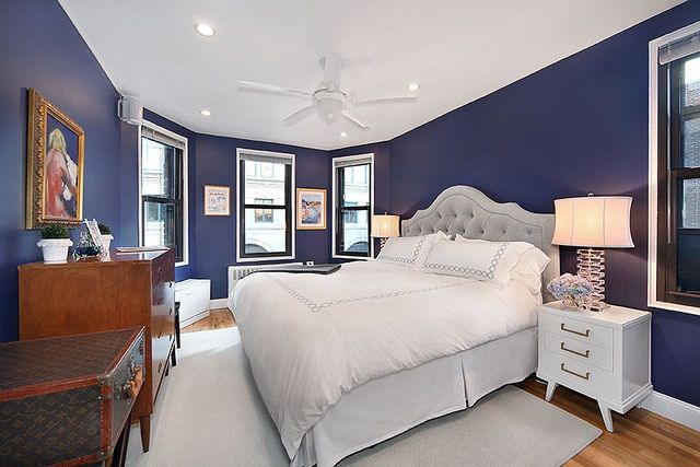 Blue Master Bedroom navy master bedroom  but not white bedding. not when sharing a