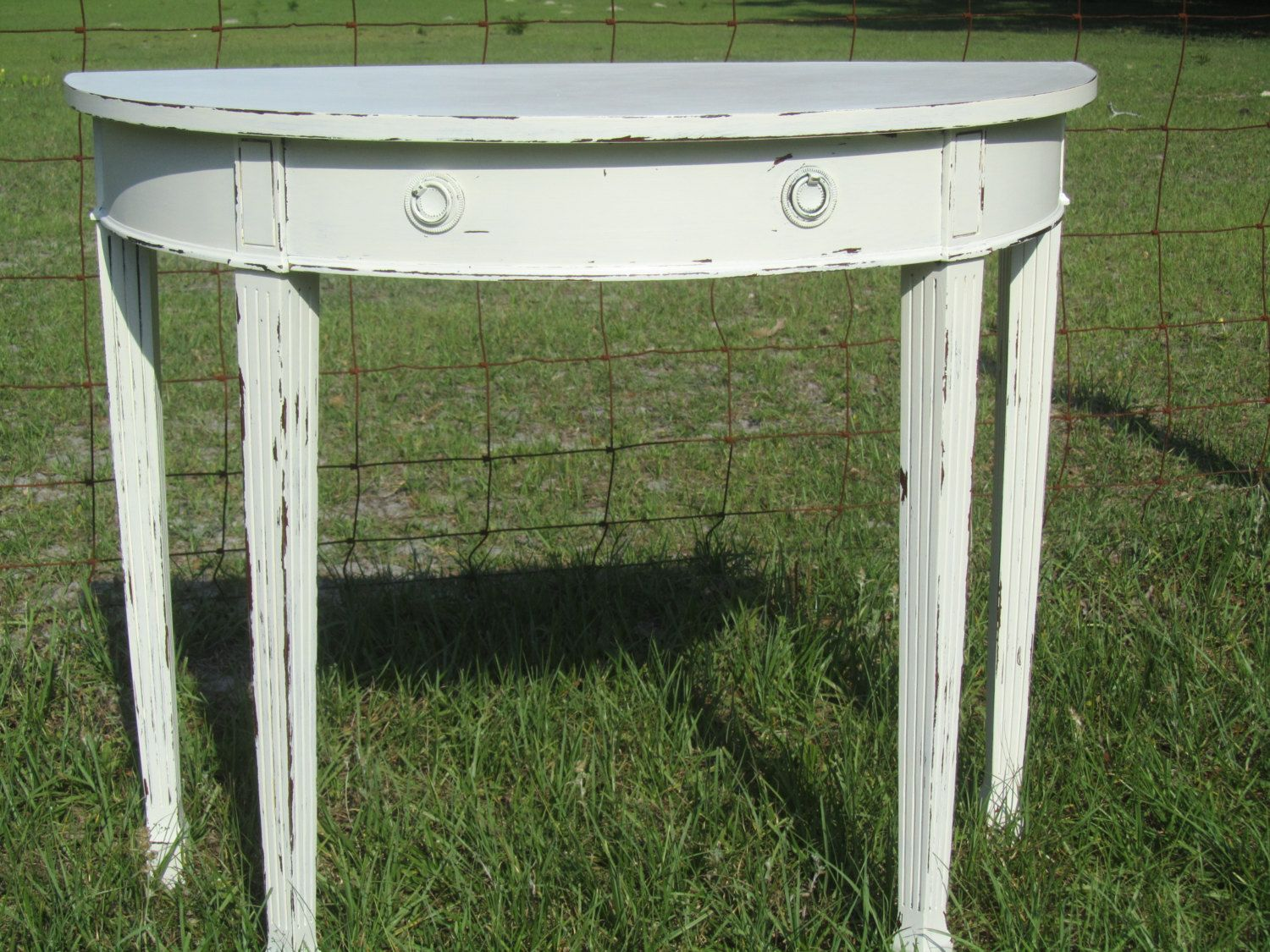 Foyer Table Distressed : The vennilux sofa console table from ashley furniture homestore
