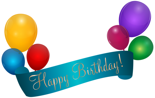 Happy Birthday Banner Transparent Clip Art Happy Birthday Png