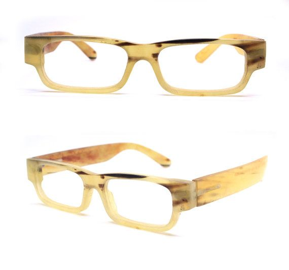 cb18b2a6d2 What you see is what you get TAKEMOTO HENRY Ox horn aquare style handmade  prescription sunglasses eyeglasses 20160912416