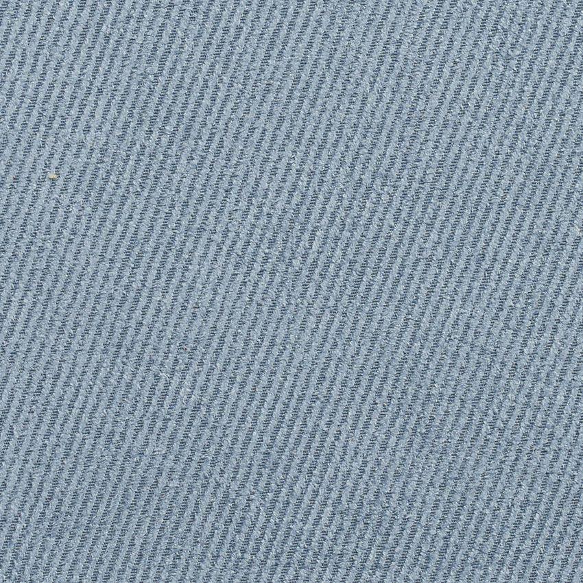 Powder Light Blue Plain Denim Upholstery Fabric Textures