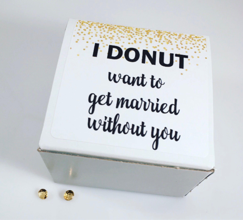 Bridesmaid Box Proposal Box Bridesmaid Gift Wedding Party