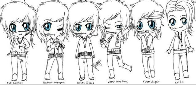 Pin By Jessica Stroud On Bvb Coloring Pictures Black Veil Brides Black Veil