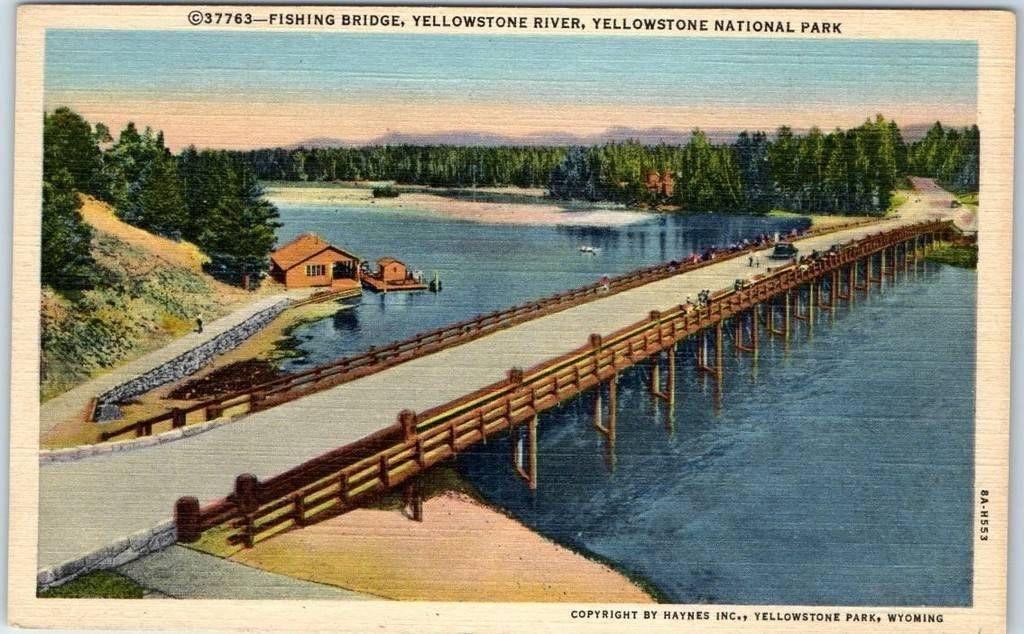 Fishing Bridge, Yellowstone   Yellowstone, Places ive been