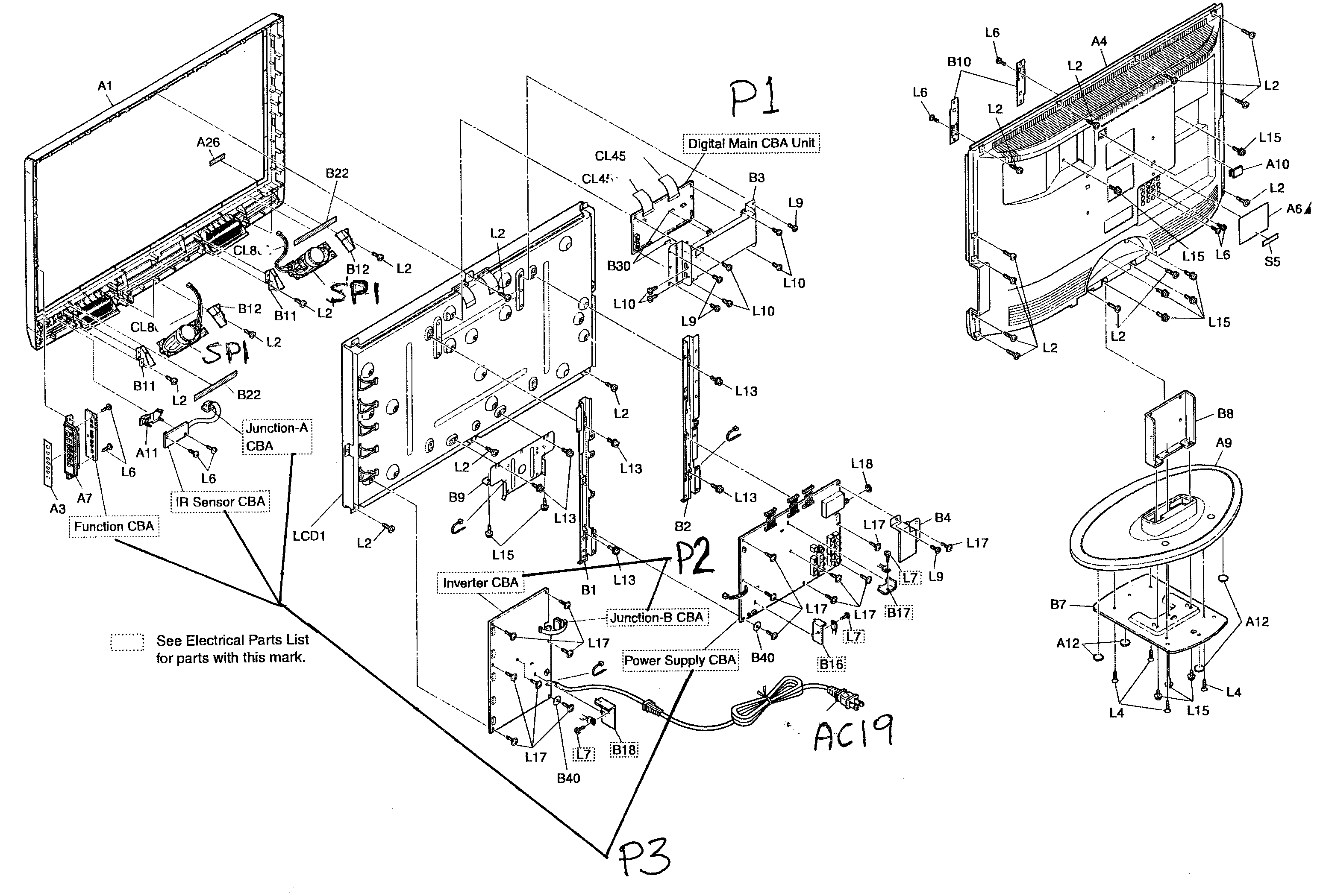 lcd tv diagram components wiring diagrams one lcd tv diagram components wiring diagram yer lcd tv [ 3096 x 2098 Pixel ]