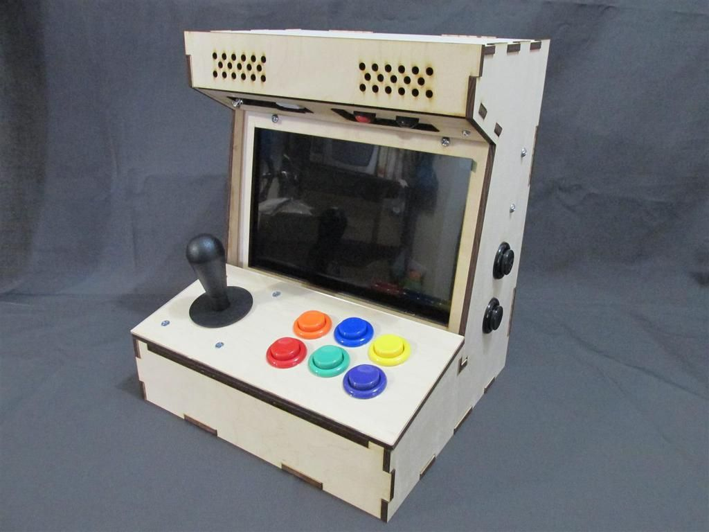 Diy Arcade Cabinets For The Raspberry Pi Tutorials For
