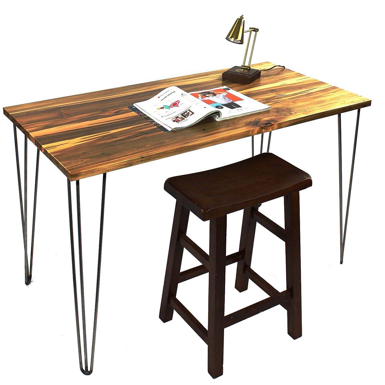 """Signstek 28"""" ThreeRod Hairpin Table Legs, Set of 4"""