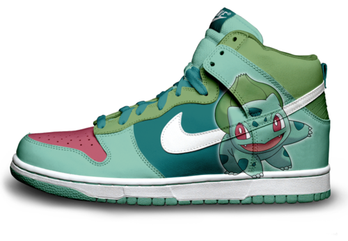I found  bulbasaur nike dunks  on Wish, check it out!   Nintendooooo ... 16f1352f311f