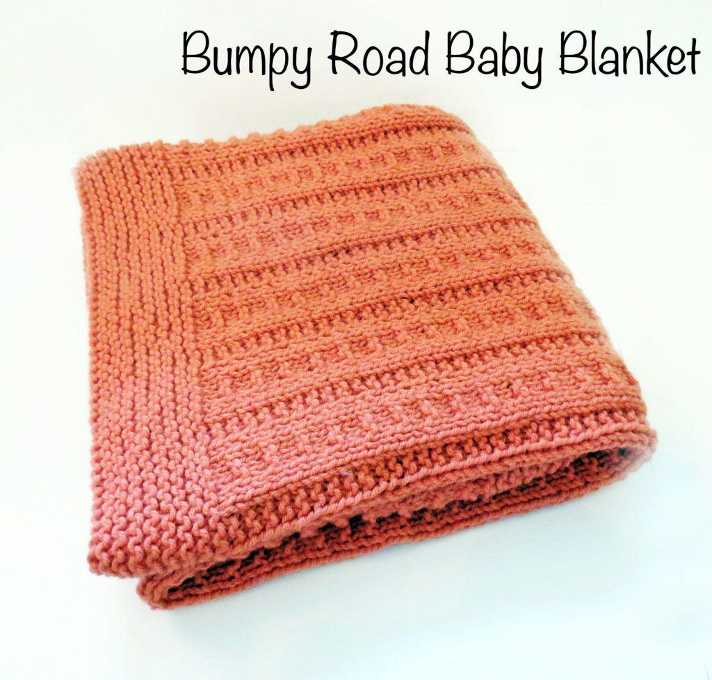 Bumpy Road Baby Blanket | Blanket, Blog topics and Blogging
