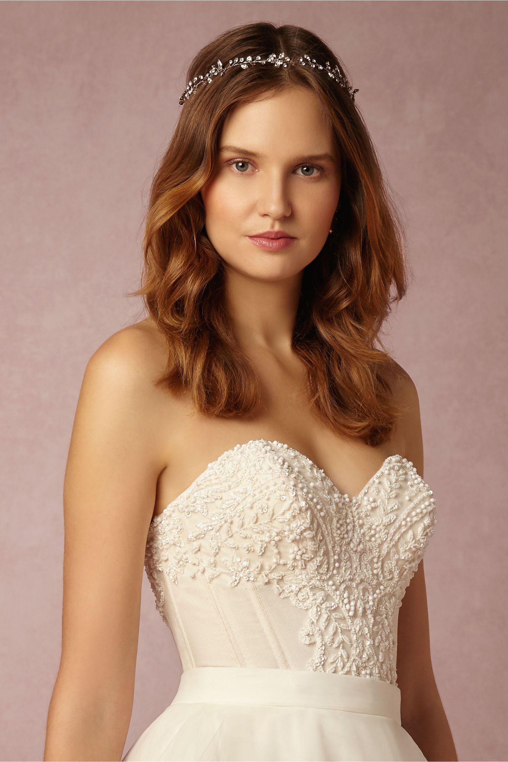 Bhldn Tisha Corset In Bride Bridal Separates Tops At