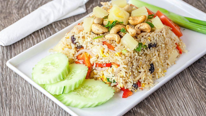 Thai Fried Rice Thai Monkey Club Food, Order food