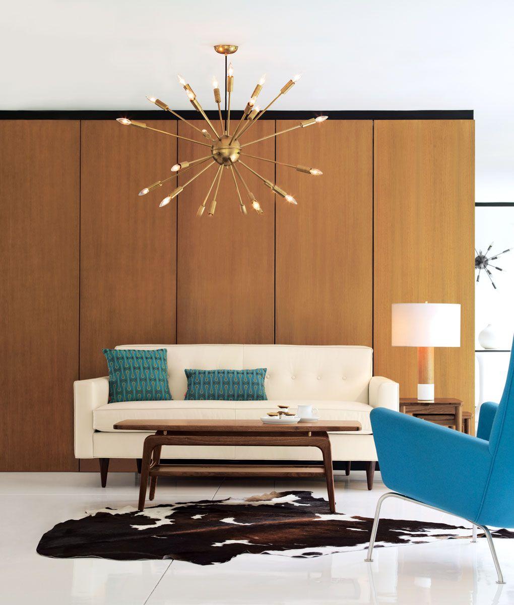 Bantam 73 sofa mid century living room chandeliers and mid century bantam 73 sofa geotapseo Gallery