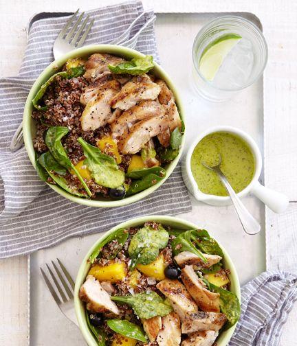 Happy Chicken Salad Bowl From Terra's Kitchen Grilled