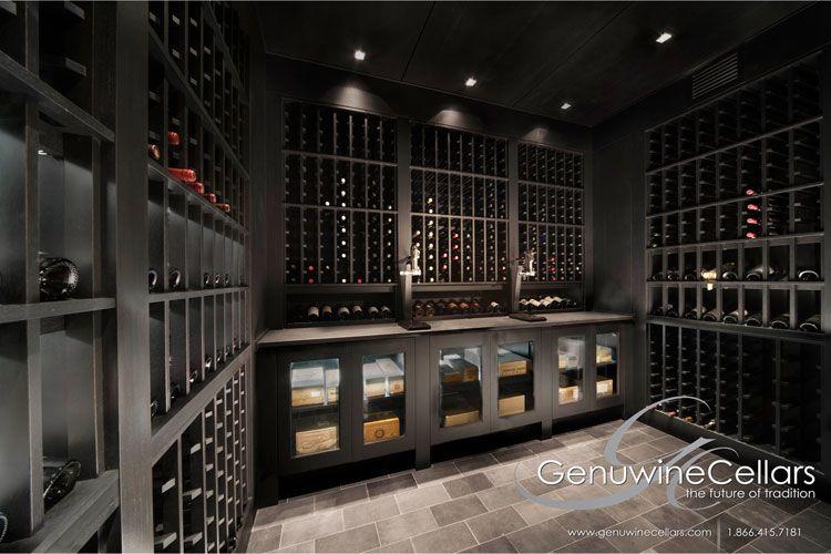 Contemporary Wine Cellar Design Dream Home Luxury