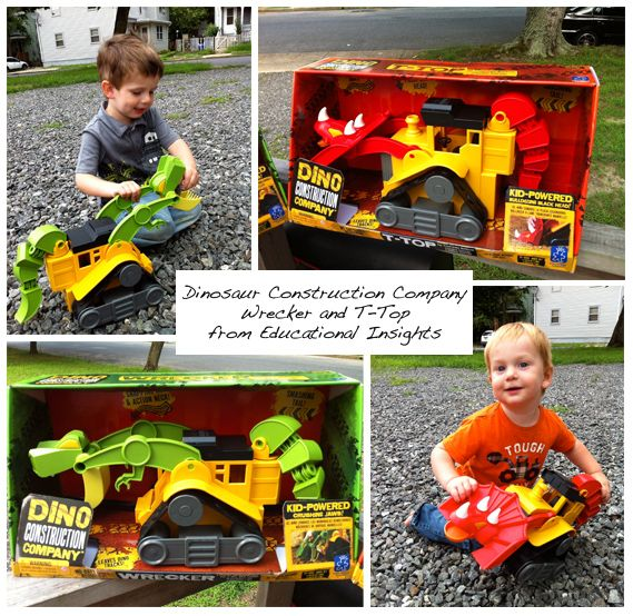 Bring Home Your Own Dino Construction Company toys from ...