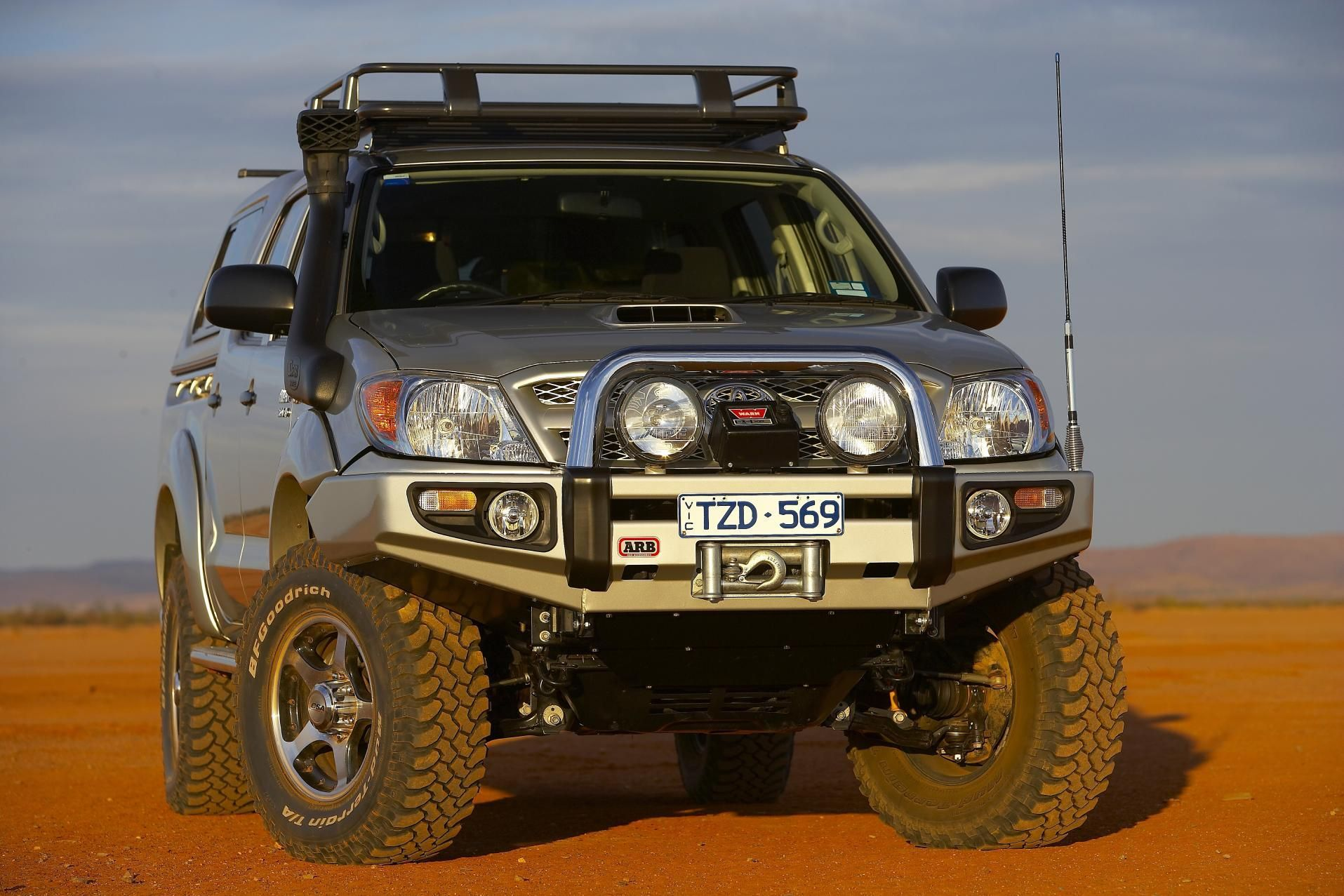 Hilux Arb Winch Bullbar Off Road 4x4 Travel Overland