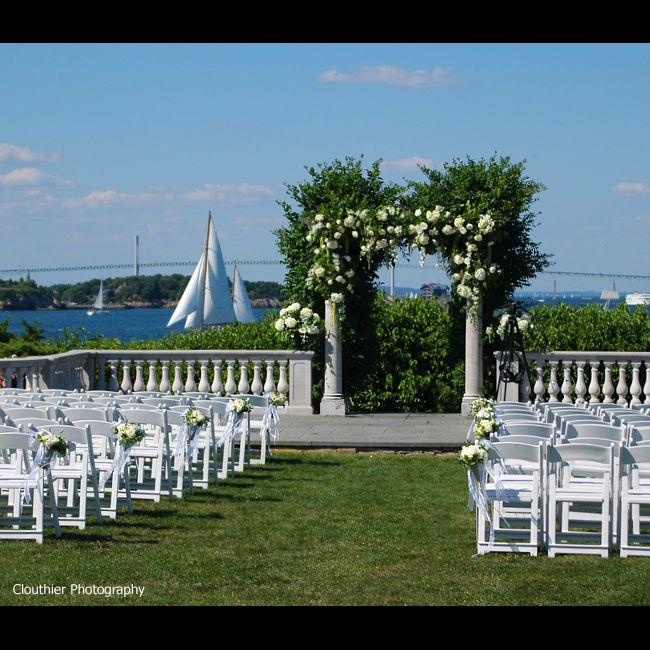 Stoneblossom Floral Design: Castle Hill Inn and Resort Venue Castle Hill, Newport RI beautiful wedding flowers french tulips peonies lily of...