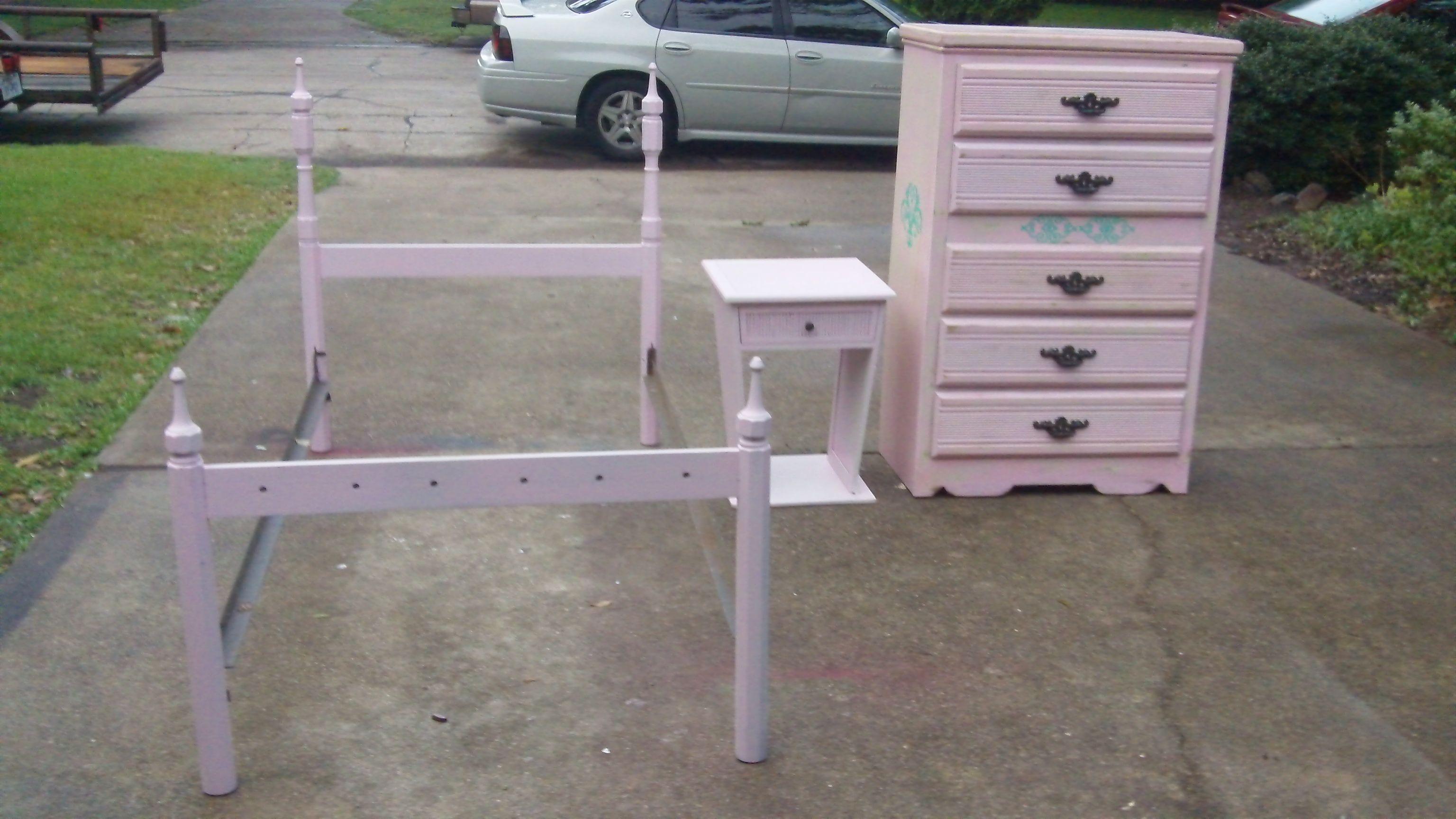 Hand Painted Refurbished Furniture My Husband Makes..