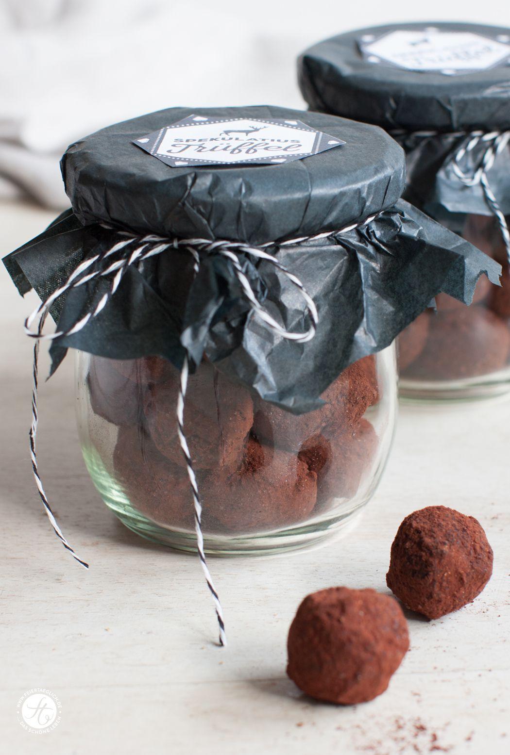 Geschenke aus der Küche: Spekulatius-Trüffel | Weihnachtsküche ...