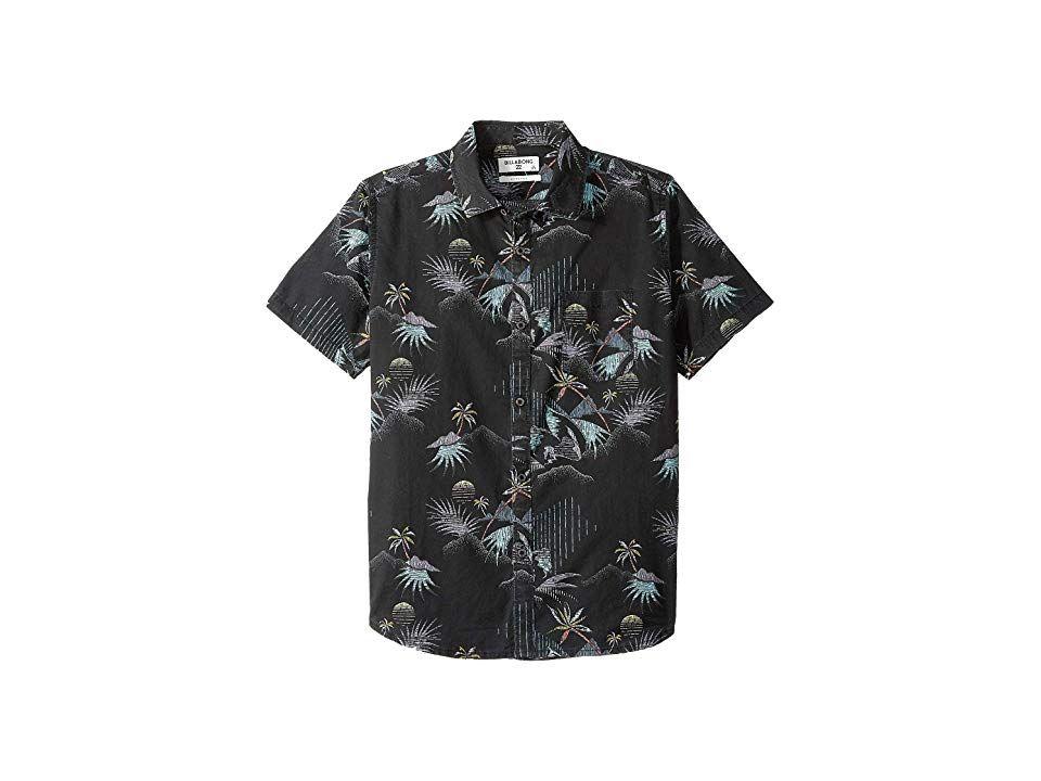 Billabong Boys Sundays Floral Short Sleeve Shirt