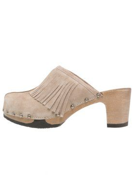 Softclox Halma Drewniaki I Chodaki Natur Zalando Pl Shoes Mule Shoe Heeled Mules