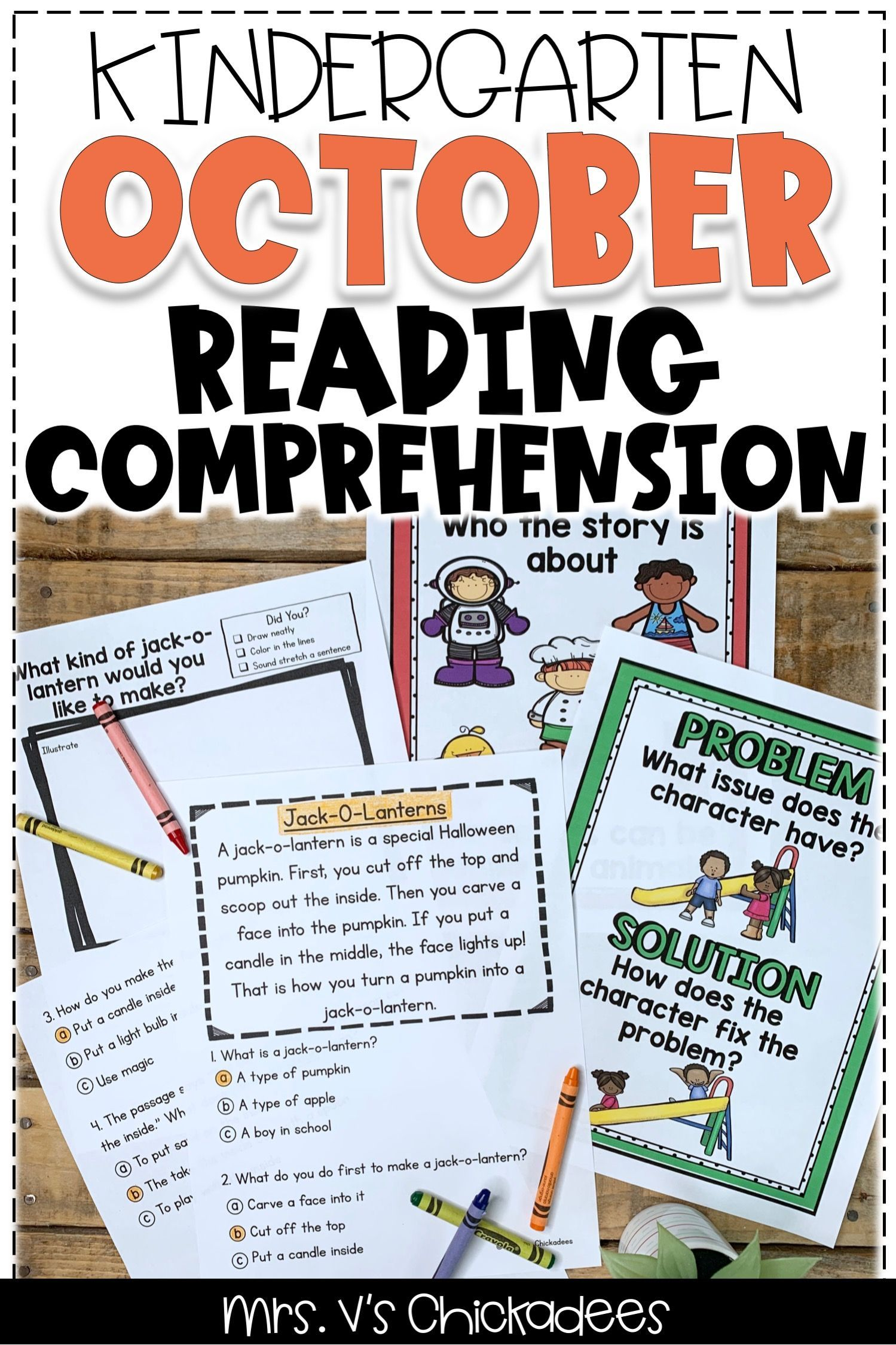 Reading Comprehension Passages Amp Questions October