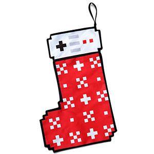 8-Bit Christmas Stocking | 8 Bit | Pinterest | Decorazioni di ...