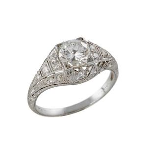 Vintage Style Engagement Rings Google Search