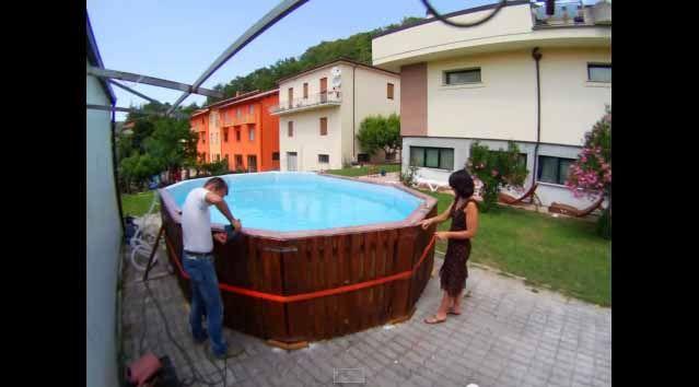 Voici Comment construire une piscine économique en très peu de temps - Construire Sa Maison En Palette