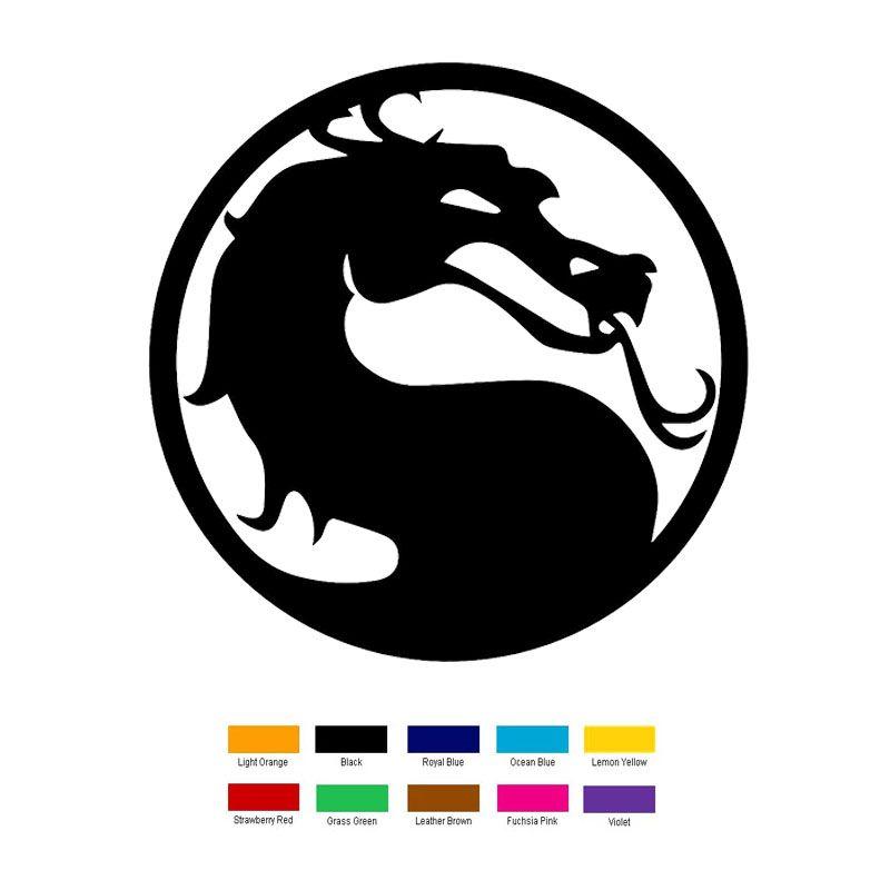 Wholesale Pcslot Cm X Cm Mortal Kombat Car Sticker For - Vinyl decals for cars wholesale