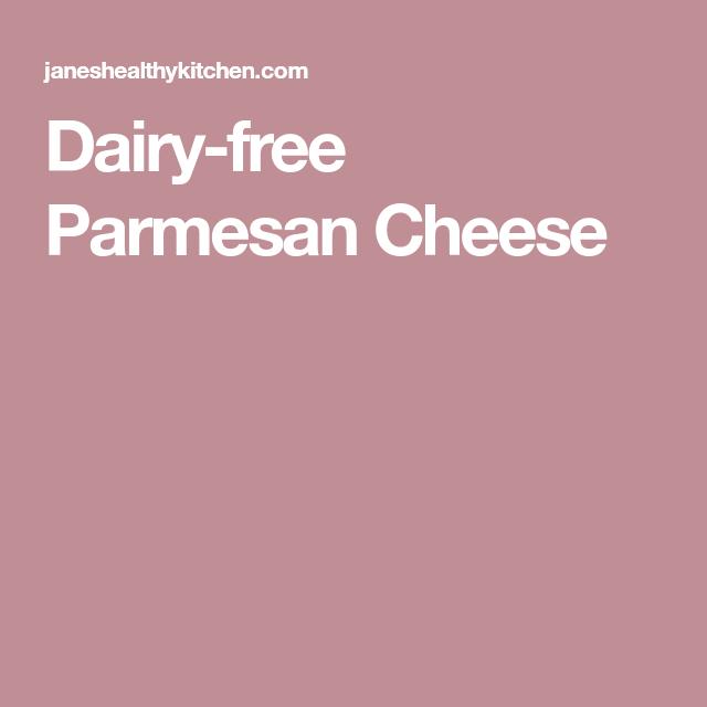 Dairy-free Parmesan Cheese