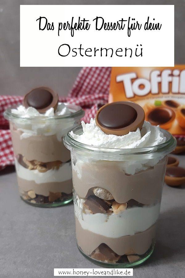 So machst du ein geniales Toffifee Dessert mit nur 4 Zutaten