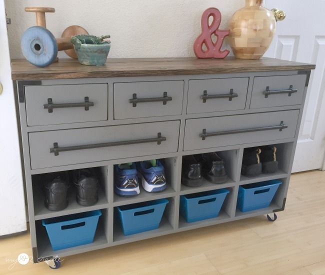 From My Love 2 CreateShoe Cubby Dresser | What to do Weekends Link ...
