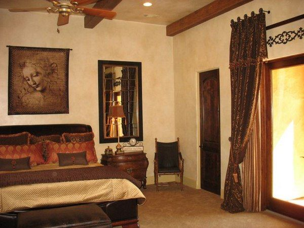 spanish style bedroom decorating ideas | room furniture ...