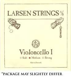Larsen 4/4 Violin String Set Medium Gauge with Ball-End E by Larsen. $67.91. Larsen violin strings are excellent, clean, clear and surprisingly rich strings. Long life and great value are features of all Larsen strings, favored by many professionals.. Save 45% Off!